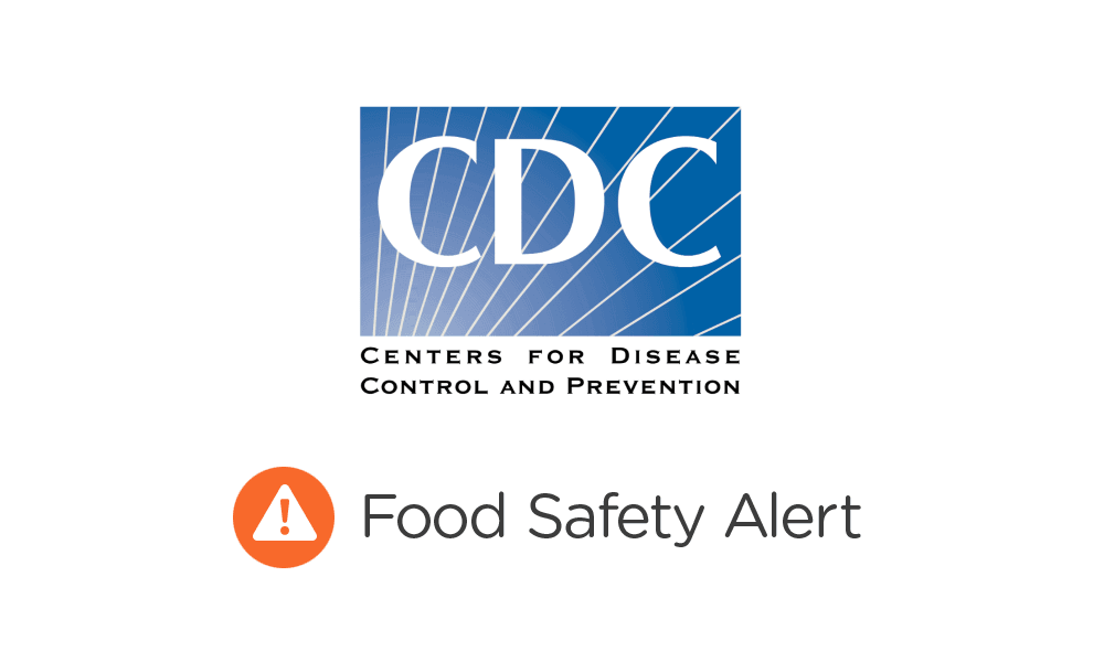 CDC food safety alert logo